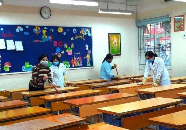 Bảo đảm môi trường an toàn khi trẻ đến lớp