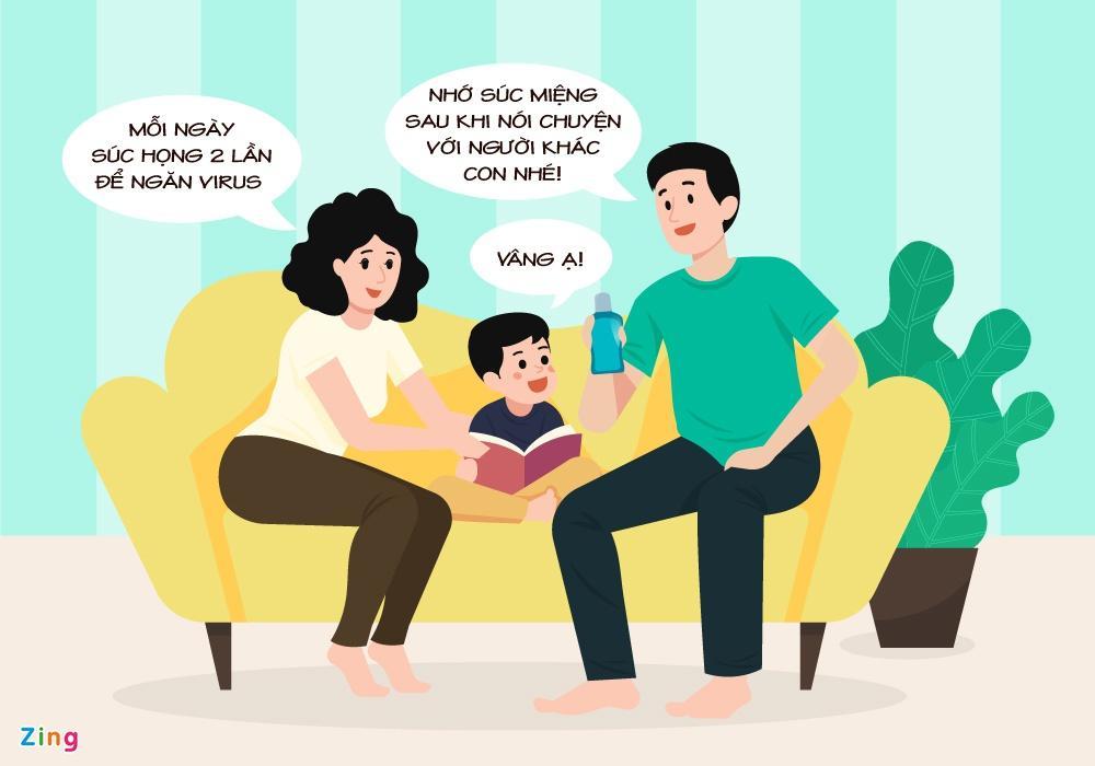 Cách chăm sóc và bảo vệ trẻ em trong mùa dịch